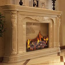 9pcs ceramic wood gas log set fireplace