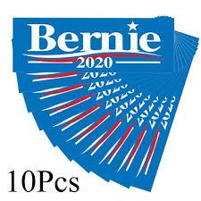 10 Pcs Re Elect Bernie 2020 American Presidential Election Political Car Bumper Sticker Decal Anti Donald Trump Car Stickers Wish