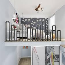 Modern Minimalist Indoor Stair Railings With Creative Design For Elderly Children S Railings Attic Step Fences