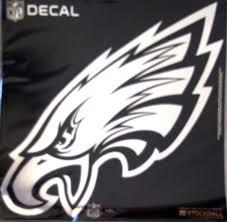 Amazon Com Stockdale Technologies Eagles Large 12 Silver Metallic Vinyl Auto Decal Nfl Football Sports Outdoors