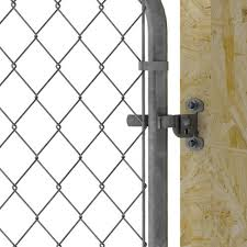 Galvanized Chain Link Fence Flat Back Fork Latch At Menards