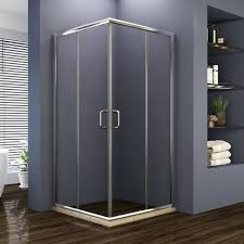 sliding door shower enclosure glass
