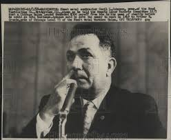 Cecil Johnson Sheet Metal Contractor in Meeting 1958 Vintage Press Photo  Print | Historic Images