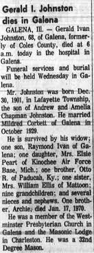 Gerald Ivan Johnston Obituary - Newspapers.com
