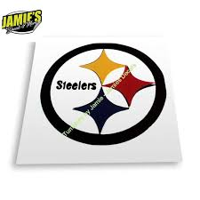 Steelers Decal Jd Version Decals Four Sizes Color Options Jamies Decals