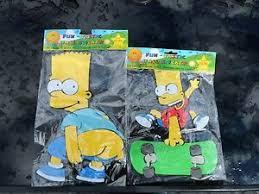 The Simpsons Cartoon Characters Fun Tastic Foam 3d Wall Stickers Ebay