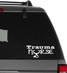 Xsgg Sticker Trauma Nurse Vinyl Decal Sticker Size 6 Inch 15 Cm Wide Wish