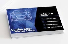 cutting edge window tinting