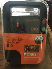 Gallagher S22 Solar Electric Fence Charger For Sale Online Ebay