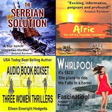 Three Women Thrillers Audiobook | Eileen Enwright Hodgetts | Audible.com.au