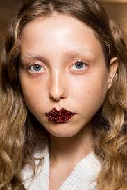 hair makeup fall 2017 milan fashion