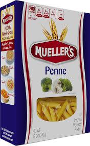 100 semolina penne mueller s pasta