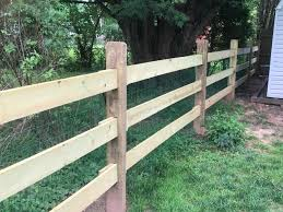 Wood Fence Company Wood Rail Fence Montgomery County Mainstreet Fence