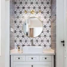 Hexagonal Star Wall And Floor Tile Marble Stone Kitchen Bathroom Backsplash