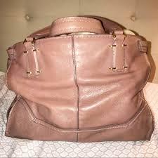 kooba bags leather mauve satchel