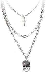 pendant necklace statement long chain