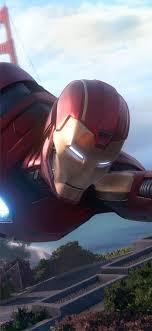 marvel avengers iron man iphone x
