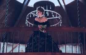 gothic wedding dress styles lovetoknow