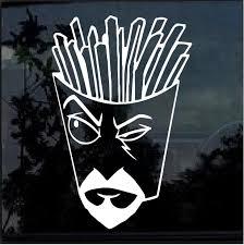 Aqua Teen Hunger Force Frylock Window Decal Sticker Custom Sticker Shop