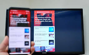 mirror an android device on your tv