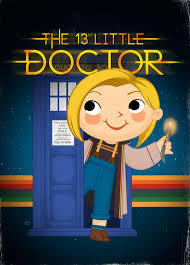 The 13th Little Doctor 5x7 POSTCARD | Etsy
