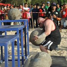 strongest man taufiq is a gentle giant
