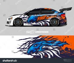 Car Wrap Decal Graphics Lion Head Stock Vector Royalty Free 1503747410