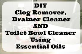diy clog remover drain cleaner and