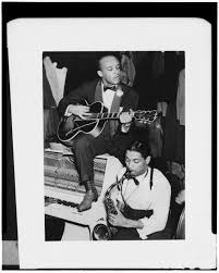 Portrait of Floyd Smith and Dick Wilson, Howard Theater ...