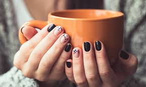 the perfect fall manicure my life