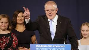 Australia Prime Minister Scott Morrison ...