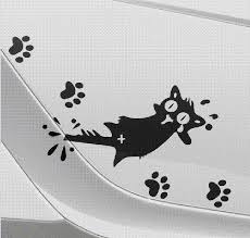 2020 New Funny Motorcycle Car Styling Cat Claw Car Sticker And Decal On Car Tail Stickers Reflective Foot Print Decal Dz 062 From Yuankun6 9 03 Dhgate Com