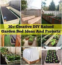 creative diy raised garden bed ideas