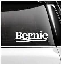 Amazon Com Bernie Logo Car Decal Bernie Sanders Handmade