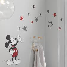 Lambs And Ivy Disney Baby Magical Mickey Mouse Wall Decal In Black Red Gray And White Nebraska Furniture Mart