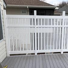 6 Davenport Vinyl Semi Privacy Fence Weatherables