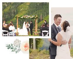 weddings at steamboat ski resort