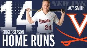She's done it! Lacy Smith breaks the UVA... - Virginia Softball | Facebook