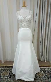 sincerity bridal mermaid gown lace 3805