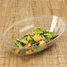 disposable oval plastic serving bowls