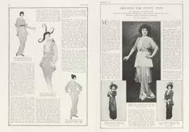 DRESSING THE PETITE TYPE | Vanity Fair | February 1914