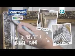 frame with johnstone s metallic paint