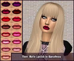vixen matte lipstick by alainavesna