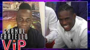 Grande Fratello Vip - La sorpresa di Mario Balotelli per il fratello Enock  - YouTube
