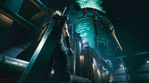 cloud strife midgar final fantasy vii