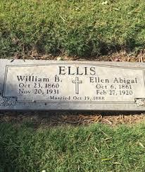 Ellen Abigail Ellis (Unknown-1920) - Find A Grave Memorial
