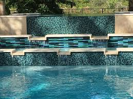 pool water features oceanside glass