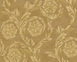 luxury gold climbing fl wallpaper