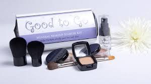 minerals makeup starter travel kit