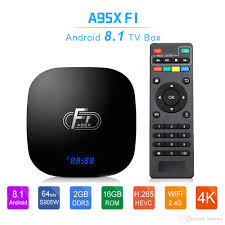 A95X F1 Android 8.1 Amlogic S905W TV Box 2GB16GB Quad Core Suppot 4K 2.4GHz  WiFi VS TX3 X96 Mini Android Tv Box Review Android Box Tv From Bowwa,  $19.72